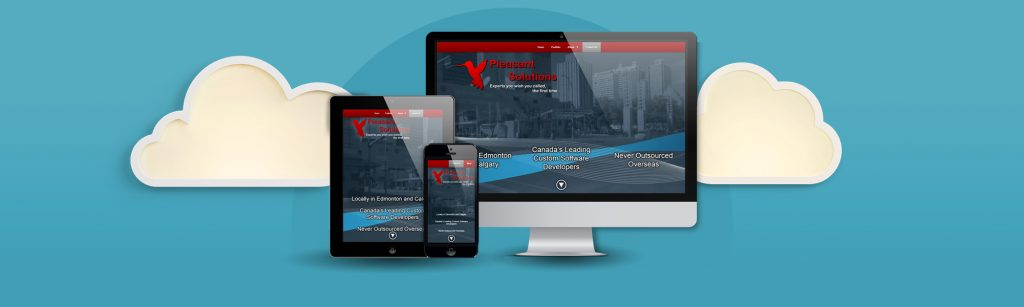 Website & Branded Materials for a Software Development Agency